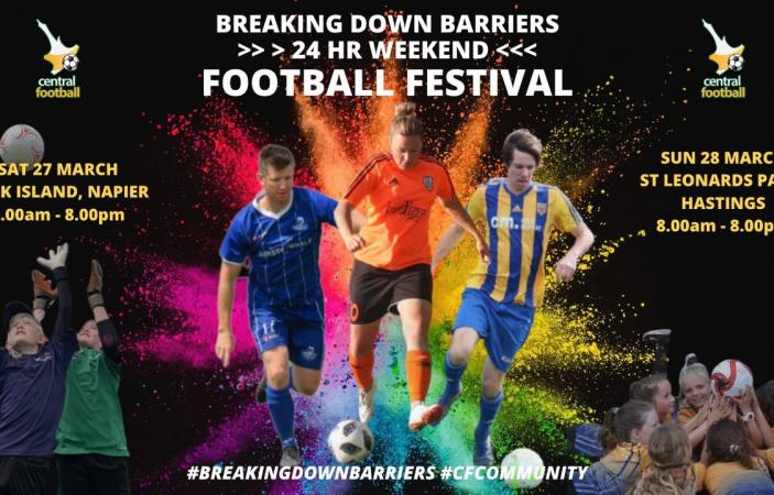 24-Hour Football Festival for Bay