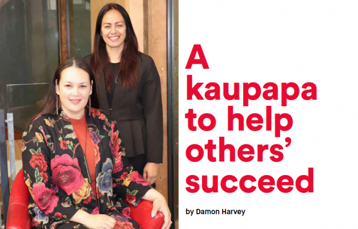 A kaupapa to help others' succeed