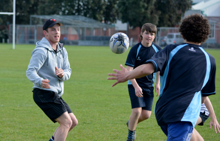 All Black and former Napier Boys' High student inspires next generation