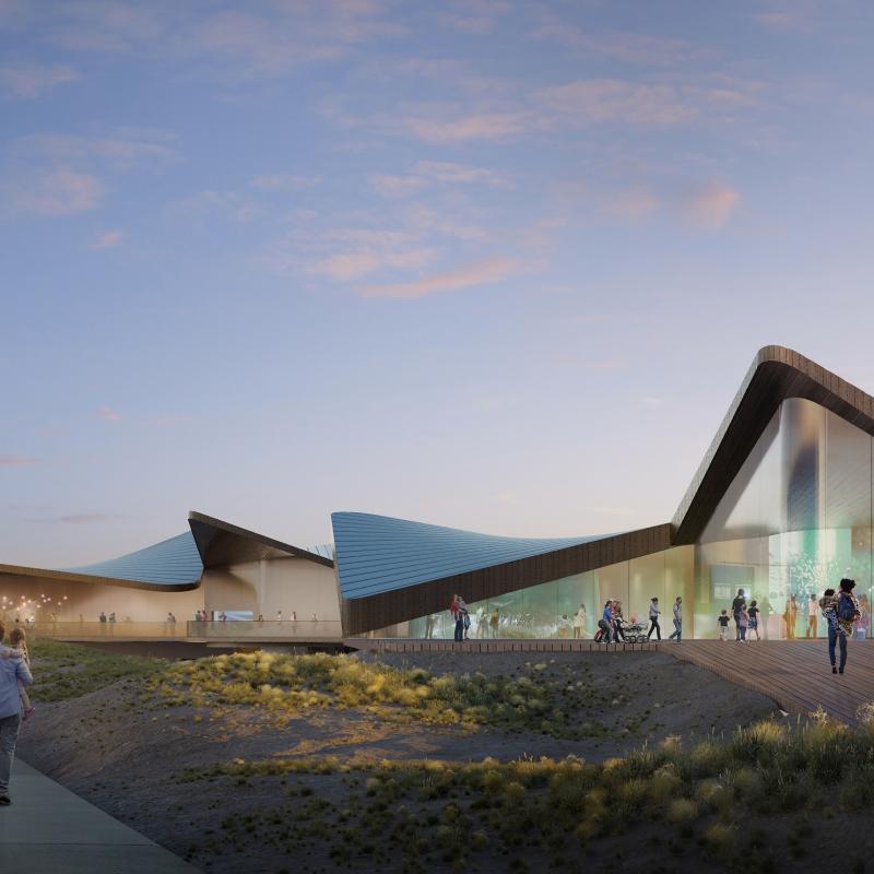 Ambitious plans to demolish and rebuild Napier's aquarium