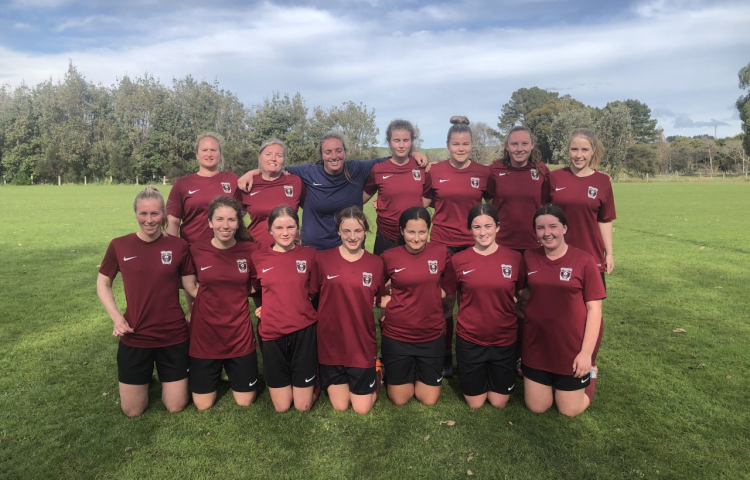 Another win for Taradale women's footballers