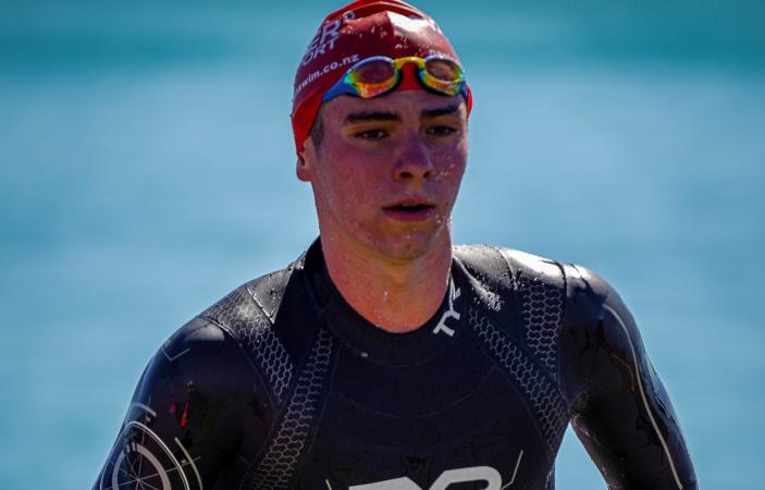 Aquahawks clubmates capture respective Ocean Swim titles