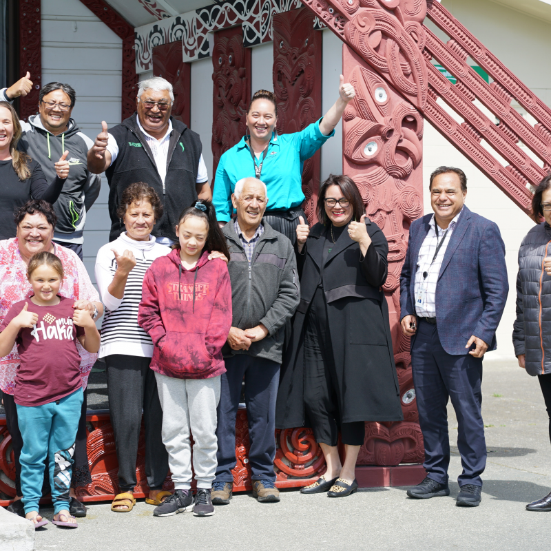 Aspirations for marae in region to be realised