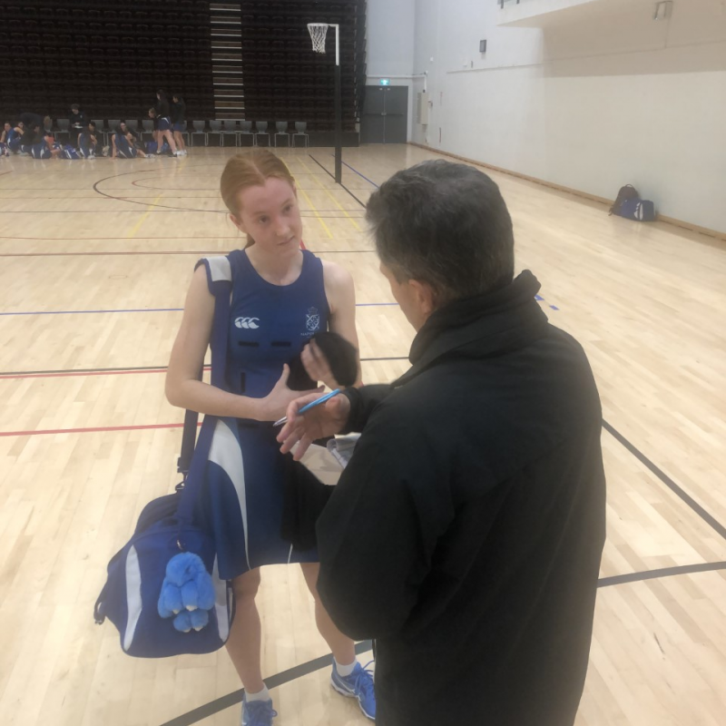 Aussie netball shooter shines for NGHS
