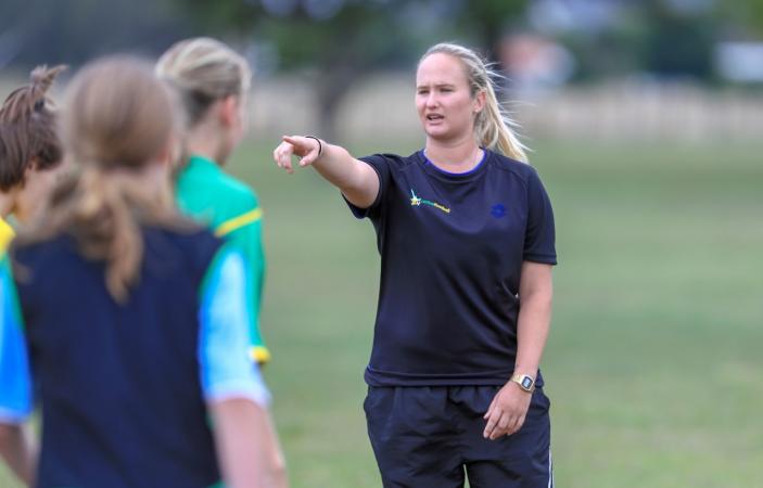 Bay footballer selected for NZF coaching mentorship