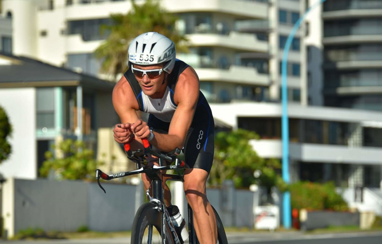 Bay's Lucas Du Ross impresses with latest Half Ironman performance