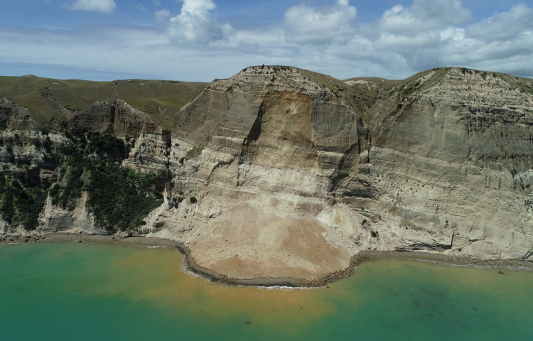 Beach road to Cape Kidnappers will re-open after landslides