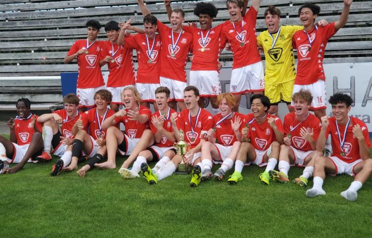 Birkenhead United claim record fifth football title
