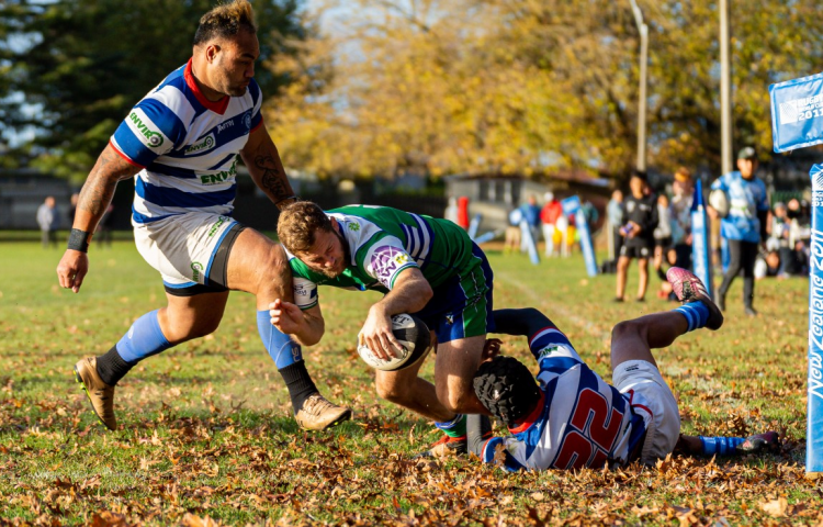 Buckley bags four tries for NOBM