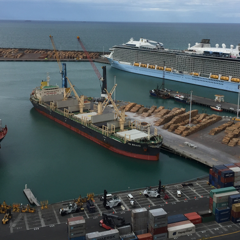 Business case for new wharf approved by Napier Port's board