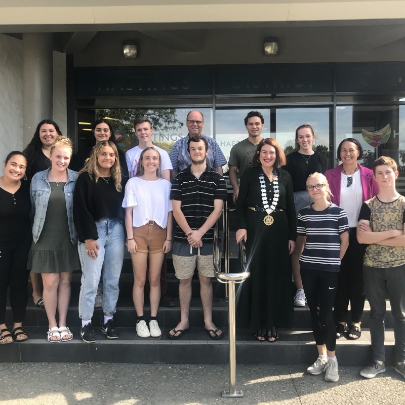 Busy year for Hastings District Youth Council