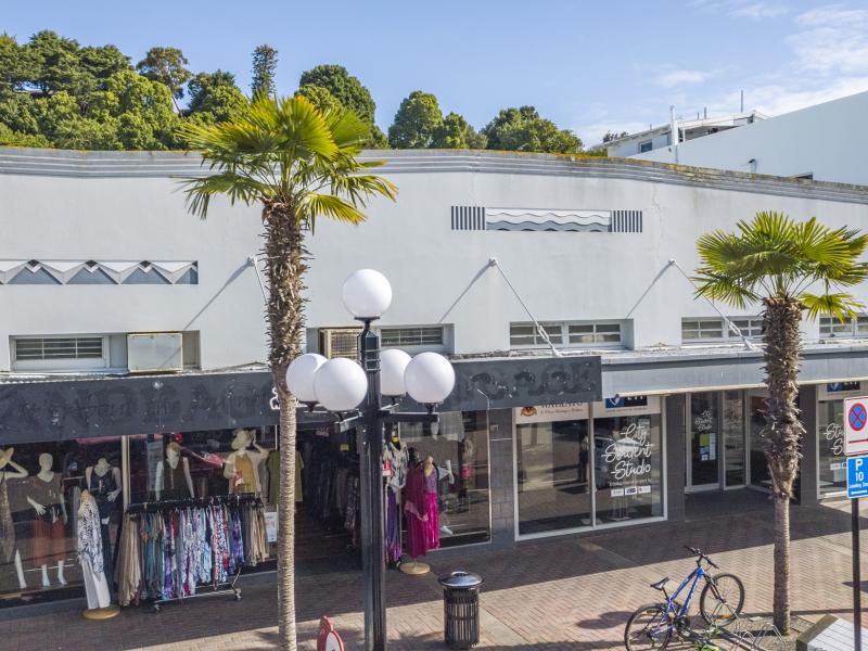 Central Napier retail site goeson the market