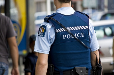 Child lucky not to be injured in yesterday's Taradale gang shooting.