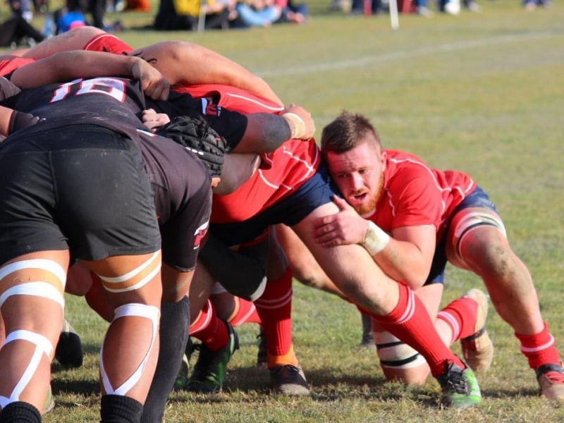 Clive rugby side deliver the goods a week late