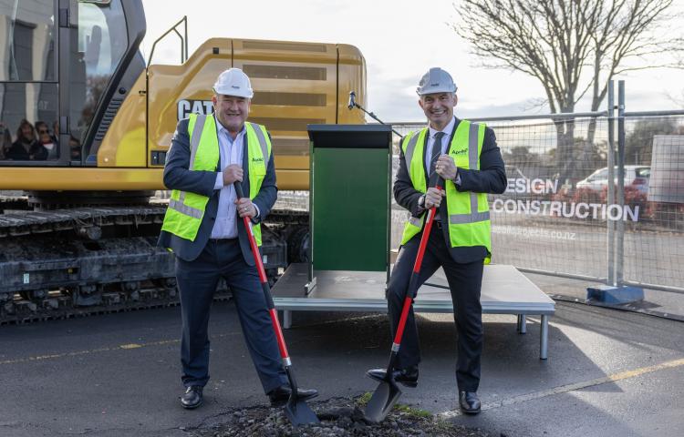 Construction of new regional indoor sport facility gets underway