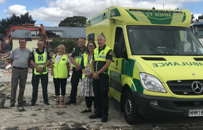 Construction underway on purpose-built St John Ambulance Napier Station