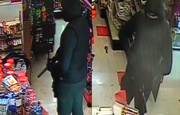 Video: Dairy owner resists armed robber with baseball bat