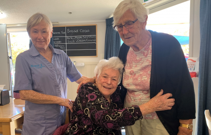 Day of celebration as Covid vaccine comes to Bupa Gladys Mary Care Home, Napier