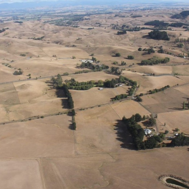 Drought declared across large parts of the country, including Hawke's Bay