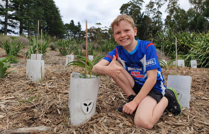 Eight-year-old takes passion for biodiversity in his stride