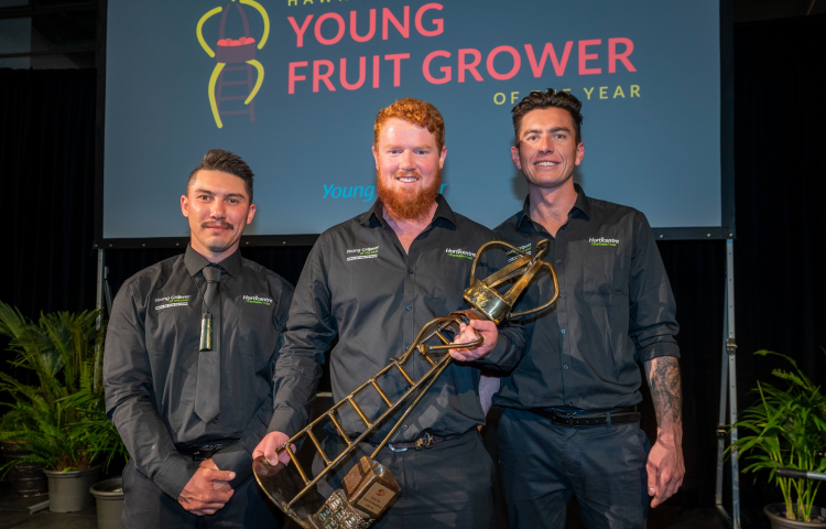 EIT graduates excel in Hawke's Bay Young Fruit Grower of the Year
