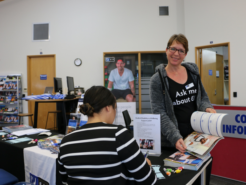 EIT hosts info and enrolment day on Thursday