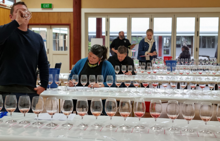 EIT plays host to judging in Hawke's Bay A&P Bayleys Wine Awards