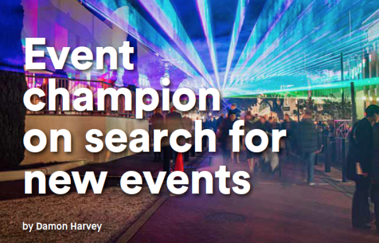 Event champion on search for new events