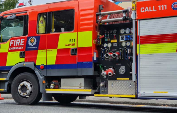 Firefighters battle chemical spill at Napier Port
