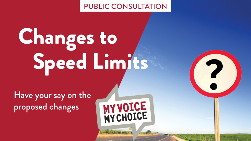 Formal consultation starts next week on speed limits review