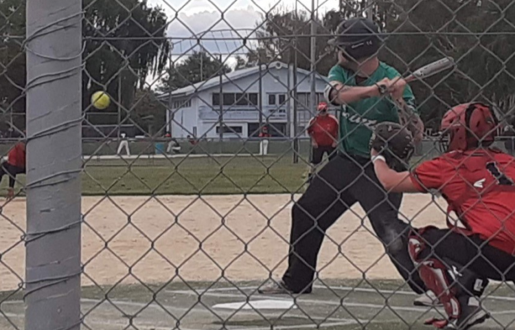 Former internationals smash home runs in Bay softball