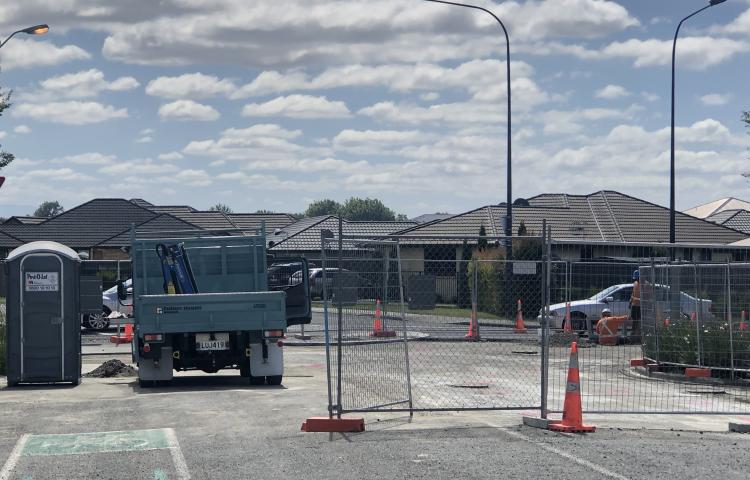 Frimley roundabout reopened