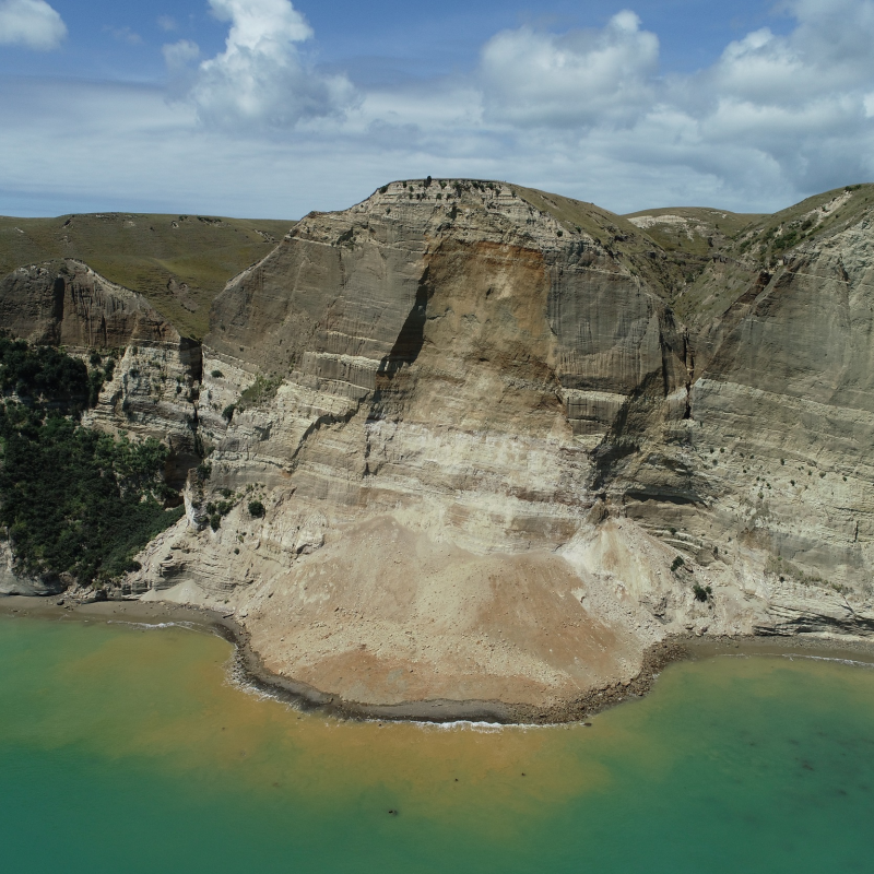 Further landslide delays Cape Kidnappers beach access opening