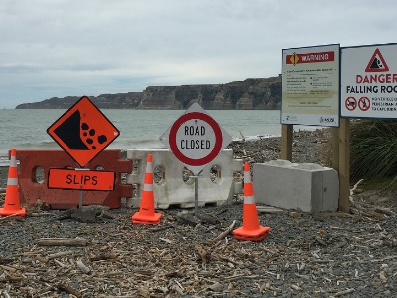 Geologist to report on Cape Kidnappers landslide next week