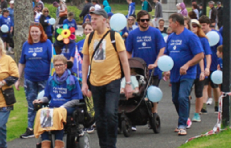 Hawke's Bay about to step out to support those with motor neurone disease