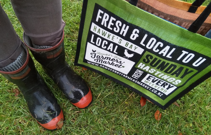 Hawke's Bay Farmers' Market to be held outside throughout the year