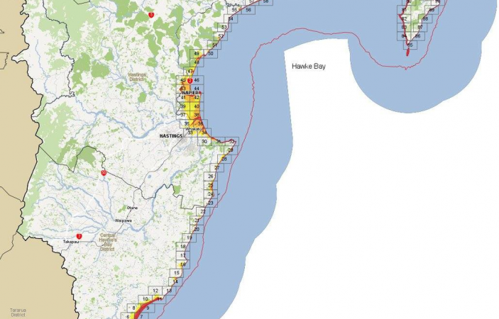 Hawke's Bay residents in red zone areas urged to evacuate