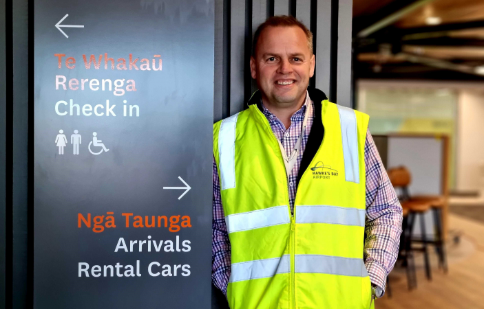 Hawke's Bay's new airport terminal opens for business