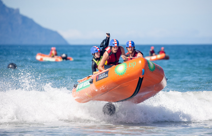 Hawke's Bay's Surf Life Saving Clubs perform well in difficult conditions at IRB Nationals