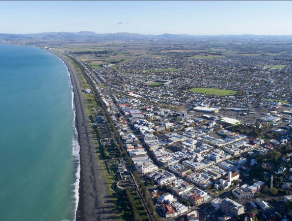 Hawke's Bay's wall of red