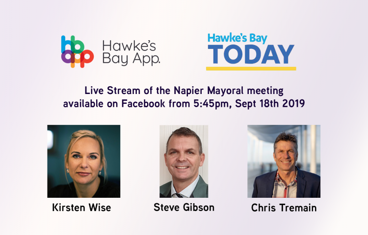 HB App live-streaming tonight's Napier mayoral candidates debate