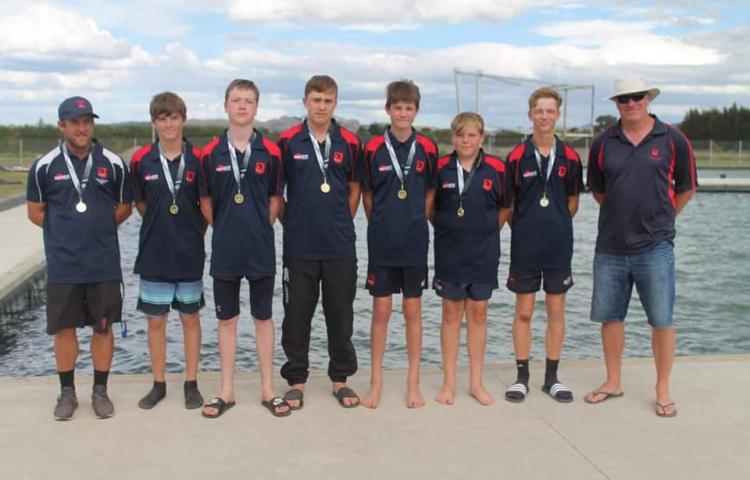 HBHS canoe polo juniors win gold