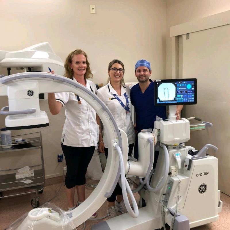 Improved radiology equipment arrives at HB Hospital