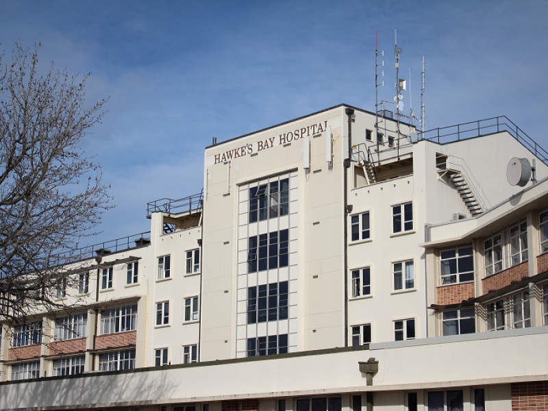 Infant in Hawke's Bay Hospital with measles