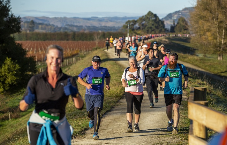Jones confirms marathon status with Hawke's Bay win while ultra-runner Flori takes women's title