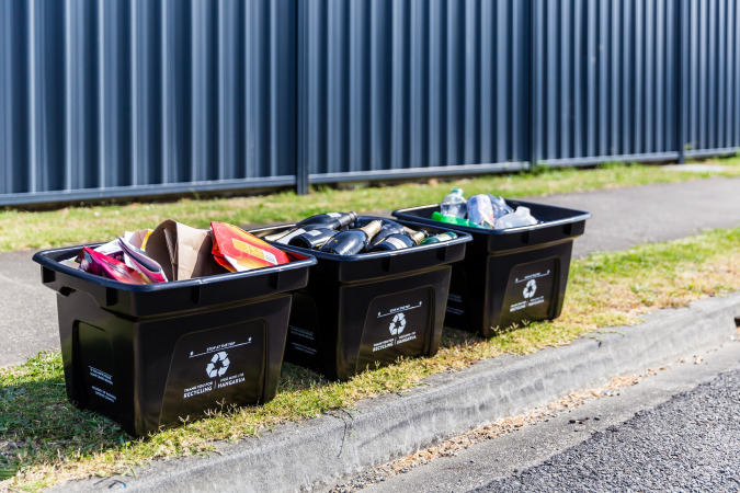 Kerbside recycling collection suspended in Hastings