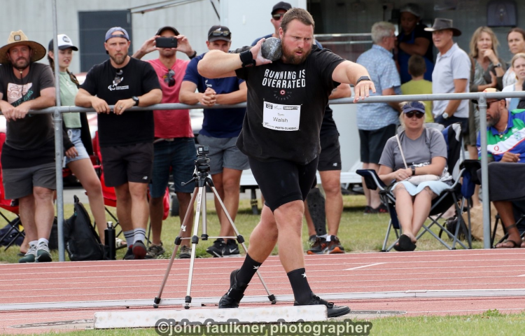 King and Queen of shot put headline national champs