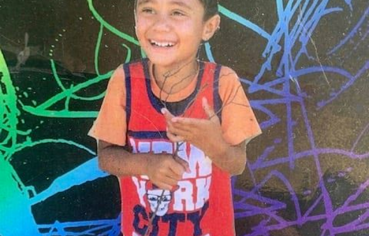 """Missing eight-year-old boy found """"safe and well"""""""
