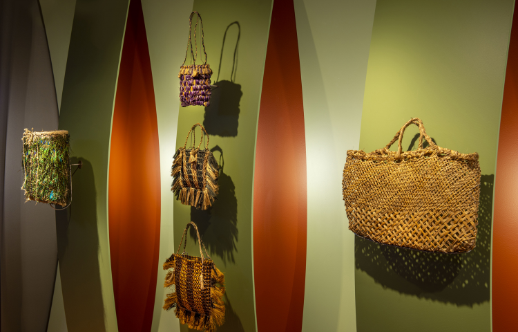 MTG's exhibition Turuturu: Fingers, Feathers & Fibre wins Resene Award