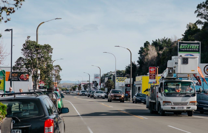 Napier City Council urges residents to have their say on Carlyle Street